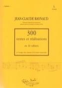300 Textes et Realisations Cahier 5 (Textes): 18 chorals - laflutedepan.com
