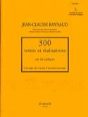 300 Textes et Realisations Cahier 2 (textes) - laflutedepan.com