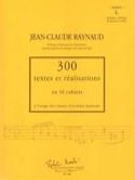 300 Textes et Réalisations cahier 4 (textes): Initiation à l'écriture du quatuor - laflutedepan.com