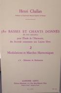 380 BASSES ET CHANTS DONNES, vol 2B Henri CHALLAN laflutedepan.com