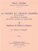 380 BASSES ET CHANTS DONNES, vol 4B : réalisations laflutedepan.com