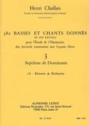 380 BASSES ET CHANTS DONNES, vol 3B: réalisations laflutedepan.com