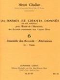 380 BASSES ET CHANTS DONNES,vol 6A: textes laflutedepan.com