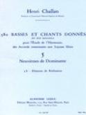 380 BASSES ET CHANTS DONNES, vol 5B: réalisations - laflutedepan.com