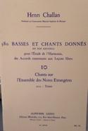 380 BASSES ET CHANTS DONNES, vol 10A: textes laflutedepan.com