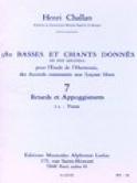 380 Basses et chants donnés - 7a-Textes Henri CHALLAN laflutedepan.com