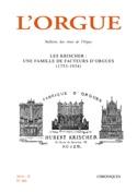 L'Orgue n°306 (2014) Revue Livre Les Instruments - laflutedepan.com
