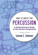 How to Write for Percussion, 2nd edition laflutedepan.com