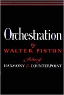 Orchestration Walter PISTON Livre Orchestration - laflutedepan.com