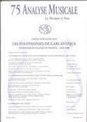 Analyse Musicale n° 75: Agrégation 2015 Revue Livre laflutedepan.com