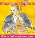 Médecine des Arts, n°78 Revue Livre Les Instruments - laflutedepan.com