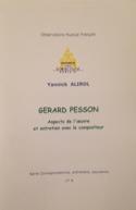 Gérard Pesson. Aspects de l'oeuvre et entretien avec le compositeur , - laflutedepan.com