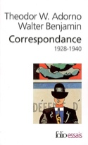 Correspondance Adorno-Benjamin : 1928-1940 laflutedepan.com