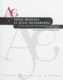 Prose musicale et geste instrumental : les Six bagatelles pour quatuor à cordes laflutedepan.com