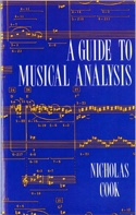 A guide to musical analysis Nicholas COOK Livre laflutedepan.com