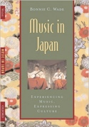 Music in Japan Bonnie WADE Livre Les Pays - laflutedepan.com