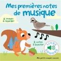 Mes premières notes de musique Marion BILLET Livre laflutedepan.com