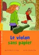 Le violon sans papiers Simon QUITTERIE Livre laflutedepan.com