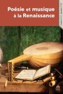 Poésie et musique à la Renaissance - Alice TACAILLE - laflutedepan.com
