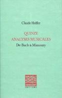 Quinze analyses musicales, de Bach à Manoury - laflutedepan.com