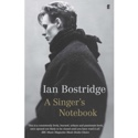 A Singer's Notebook - Ian BOSTRIDGE - Livre - laflutedepan.com