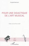 Pour une didactique de l'art musical - laflutedepan.com