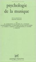 Psychologie de la musique ZENATTI Arlette dir. Livre laflutedepan.com