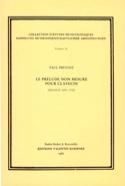 Le prélude non mesuré pour clavecin (France 1650-1700) laflutedepan.com