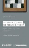 Messagesquisse de Pierre Boulez - Jean-Marie RENS - laflutedepan.com