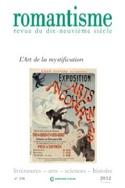 Romantisme n° 156 : L'art de la mystification Revue laflutedepan.com