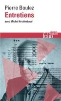 Entretiens avec Michel Archimbaud Pierre BOULEZ Livre laflutedepan.com