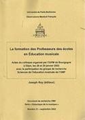 La formation des Professeurs des écoles en Éducation musicale laflutedepan.com
