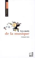 Les mots de la musique - Christophe HARDY - Livre - laflutedepan.com