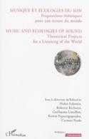 Musique et écologies du son : propositions théoriques pour une écoute du monde - laflutedepan.com