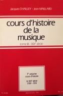 Cours d'histoire de la musique : Tome 3 vol. 1 laflutedepan.com