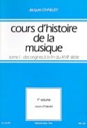 Cours d'histoire de la musique : Tome 1 vol. 1 laflutedepan.com