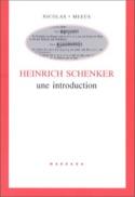 Heinrich Schenker, une introduction - Nicolas MEEUS - laflutedepan.com