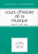 Cours d'histoire de la musique : Tome 2 vol. 1 laflutedepan.com
