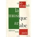 La musique arabe EL MAHDI Salah Livre Les Pays - laflutedepan.com