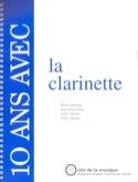 10 Ans Avec la Clarinette Collectif Livre laflutedepan.com