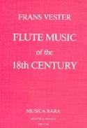 Flute Music Of The 18th Century Franz VESTER Livre laflutedepan.com