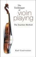 The Technique of violin playing : The Joachim Method (Livre en anglais) laflutedepan.com