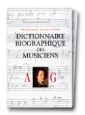 Dictionnaire biographique des musiciens - Coffret laflutedepan.com