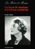La Leçon de Musique D'Yvonne Lefébure Yvette CARBOU laflutedepan.com