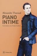Piano intime Alexandre THARAUD Livre Les Hommes - laflutedepan.com