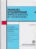 Manuel d'harmonie, vol. 4 : Improvisation et invention laflutedepan.com