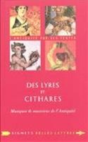 Des lyres et des cithares Séline GULGOLEN Livre laflutedepan.com