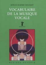Vocabulaire de la musique vocale - laflutedepan.com