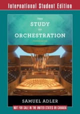 Samuel ADLER - The study of orchestration - Book - di-arezzo.co.uk