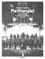 Heinrich CREUZBURG - Partiturspiel : Score playing (La réduction au piano), vol. 1 - Livre - di-arezzo.fr